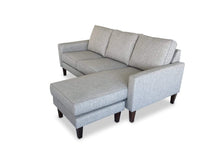right hand facing Fabric Reversible Chaise Lounge