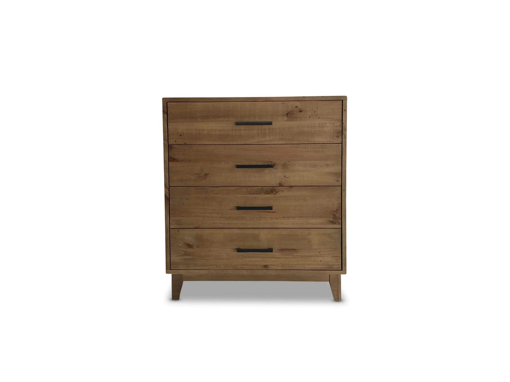 Bondi Timber Tallboy with Recycled Timber and Distressed Finish