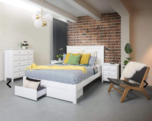 Chanelle Bed Frame with Storage Drawers