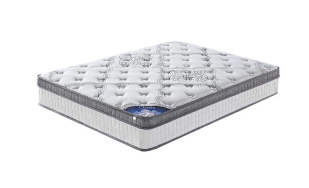 Classic Plush Pocketspring Mattress with Memory Foam Top