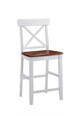 Westend White Oak Barstool with Stylish Scandinavian Design