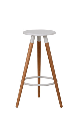 Luka Barstool with White Oak Scandinavian Design