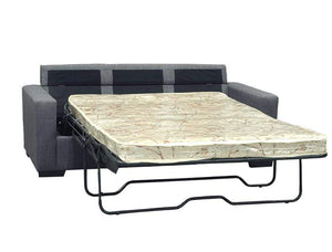 open Sofa Bed in Fabric Linen Finish with a Double Mattress