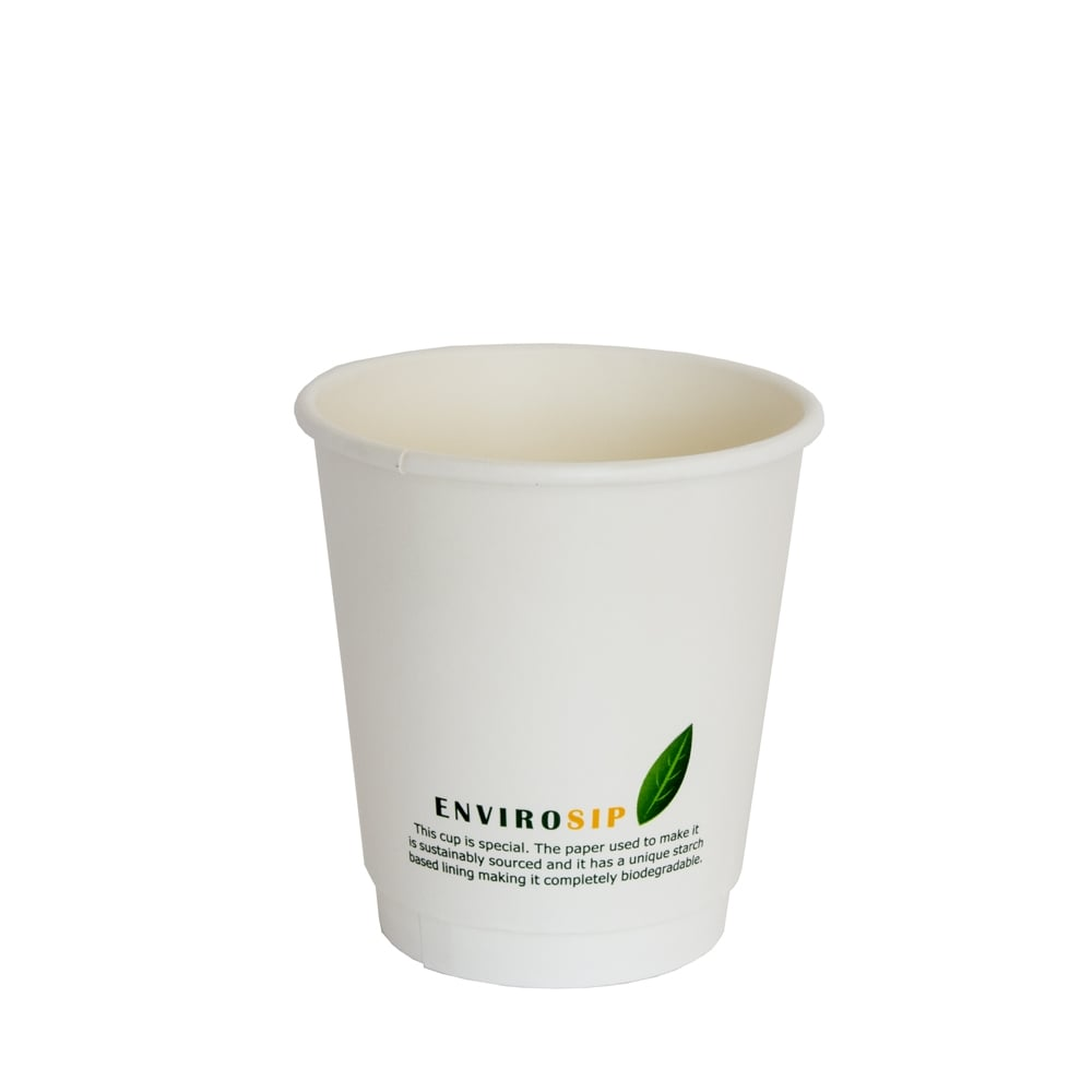 10oz Double Wall Paper Cup - Biodegradable Coffee Cup