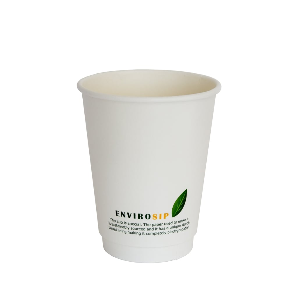 12oz Biodegradable Cup | Double Wall Paper Cup