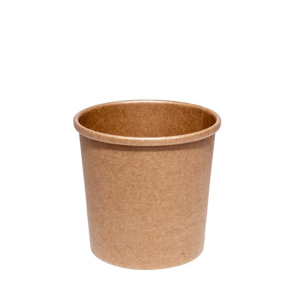 12oz brown soup container streetfoodpackaging