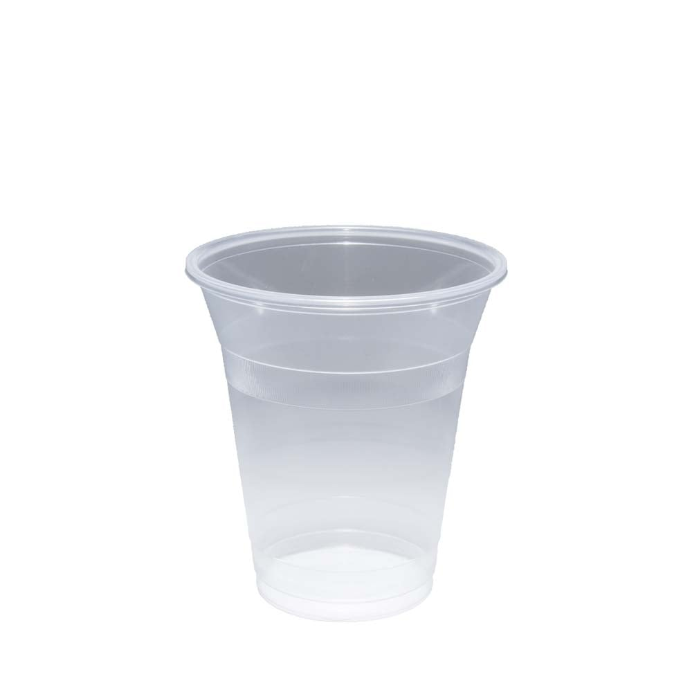 Disposable Plastic Cup|Smoothie Slush Milkshake Juice Cup| 12oz Plastic PP  Cup (Case x 1000)