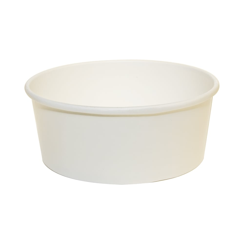 16oz White Soup Container - Wide