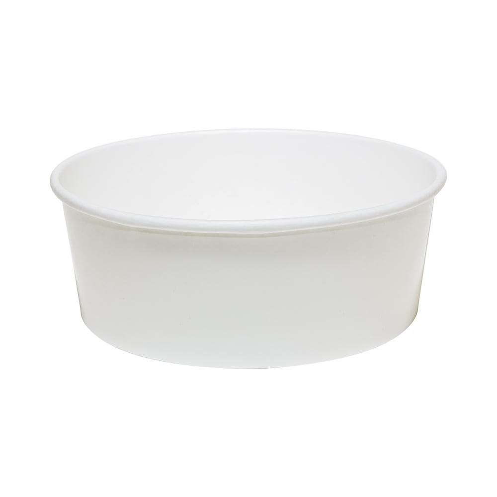 42oz white soup container - wide