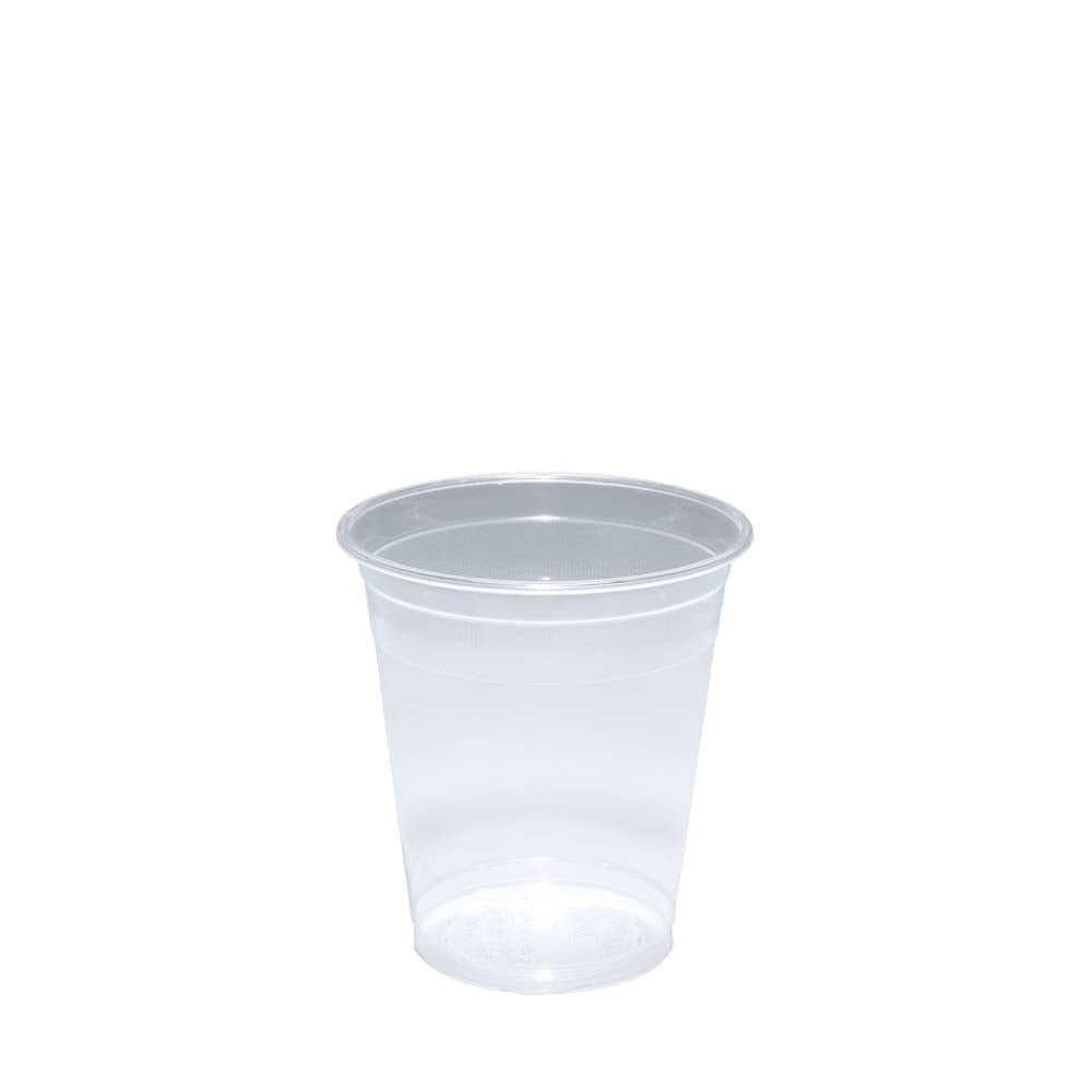 100 ENGLAND CLEAR PLASTIC DISPOSABLE CUPS  500ml   BRAND NEW
