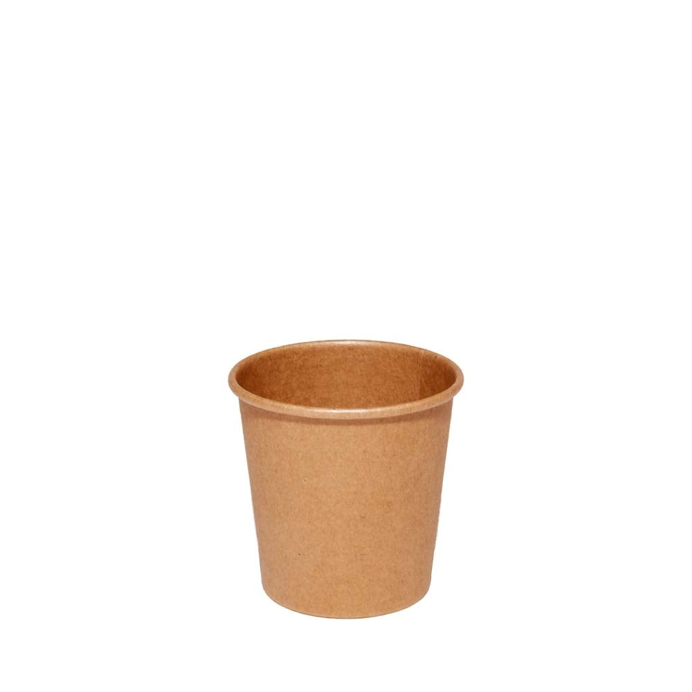 4oz Brown Paper Coffee Cup| Disposable Hot Drink Cup