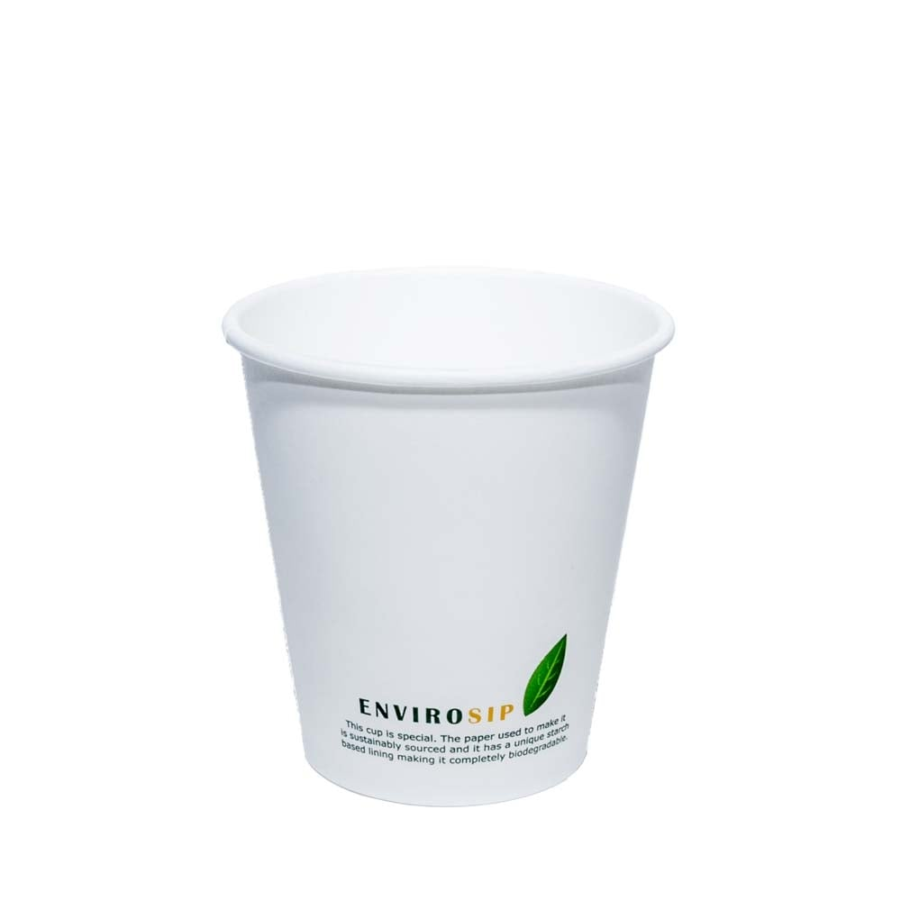 10oz Biodegradable coffee cup
