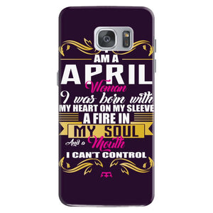 i am a april women Samsung Galaxy S7