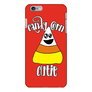 candy corn cutie for halloween iPhone 6/6s Plus Case