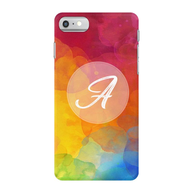 letter a  initial iPhone 7 Case
