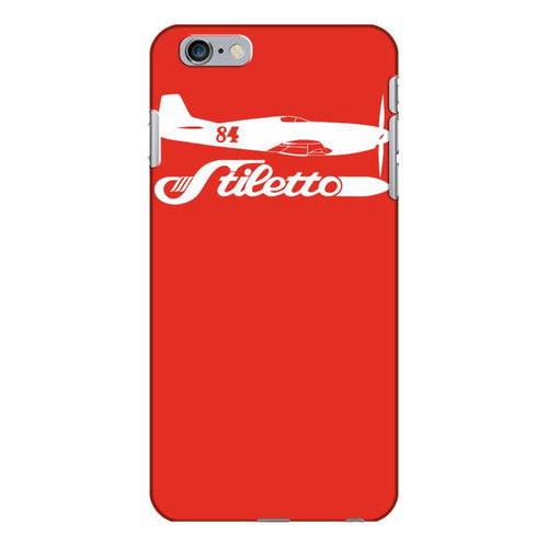 stiletto p 51 mustang race 84 reno air racer decal merlin air racing iPhone 6/6s Plus Case