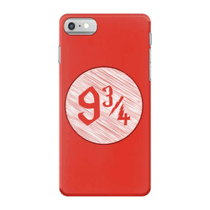 9 3 4 nine three quarters harry potter hogwarts iPhone 7 Case