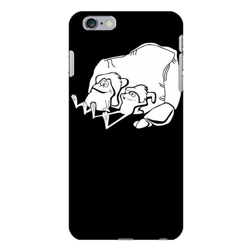 sancho und pancho kult fun frösche frog oldschool iPhone 6/6s Plus Case