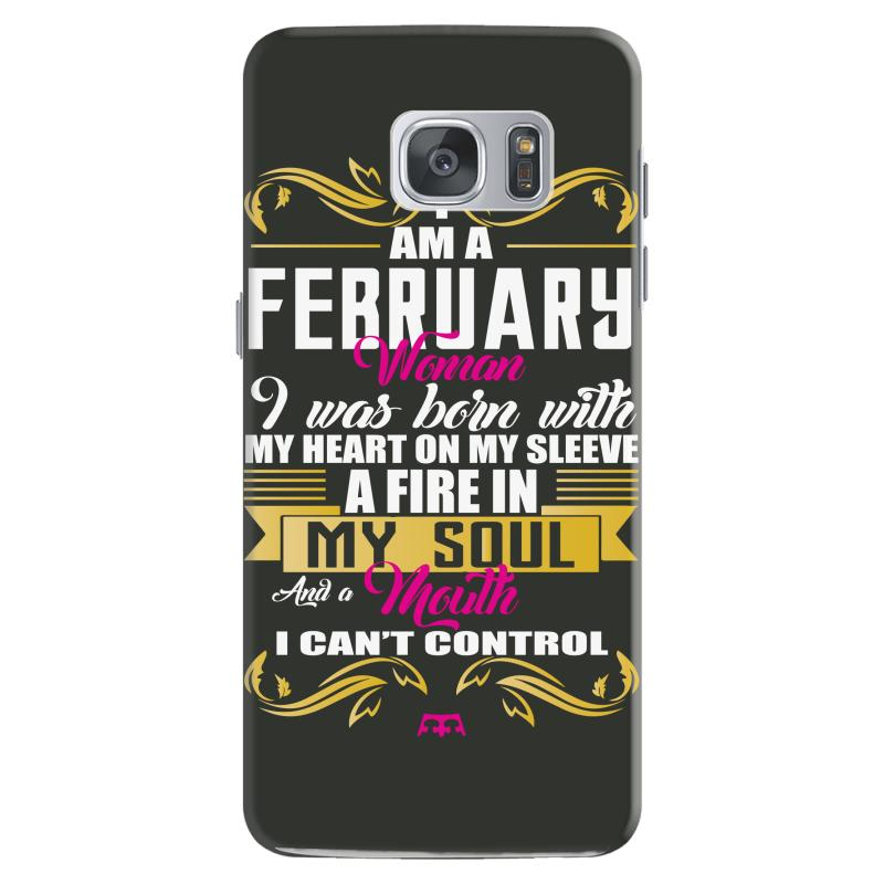 i am a february women Samsung Galaxy S7