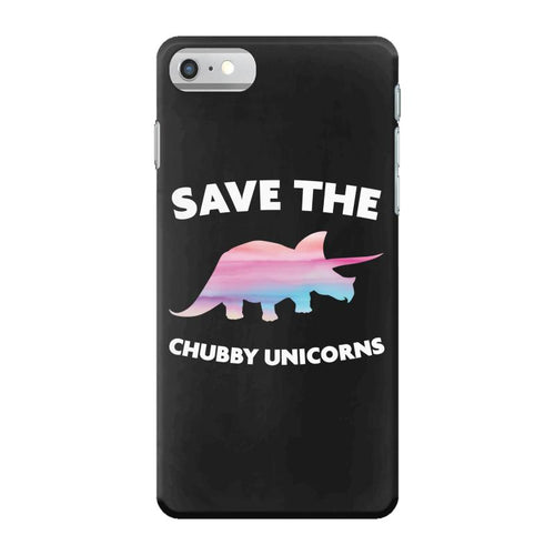 Save The Chubby Unicorns iPhone 7 Case