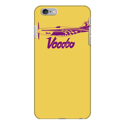 voodoo p 51 mustang race 5 reno air racer decal merlin air racing iPhone 6/6s Plus Case