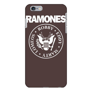 punk rock band nyc baseball jersey iPhone 6/6s Plus Case