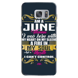 i am a june women Samsung Galaxy S7