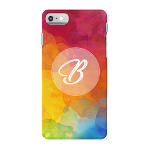 letter B initial iPhone 7 Case
