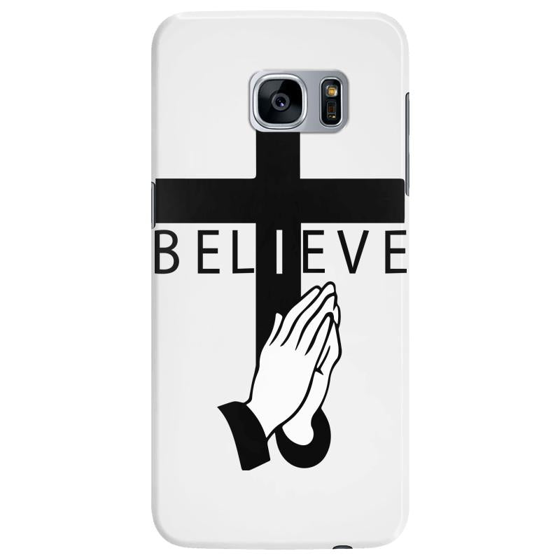 i believe in cross and pray Samsung Galaxy S7 Edge