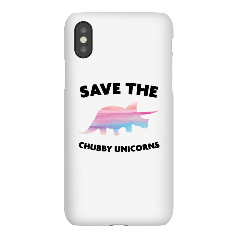 Save The Chubby Unicorns iPhoneX