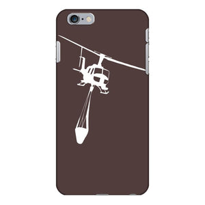 uh 1 huey air attack helicopter vinyl decal fire fighting cdf usfs iPhone 6/6s Plus Case