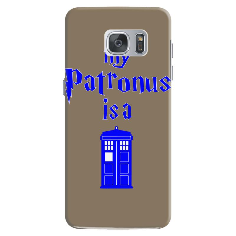 my patronus is a tardis Samsung Galaxy S7