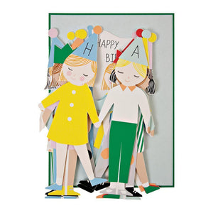 Concertina Children Card