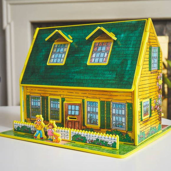 Authur Toy House book and Play set