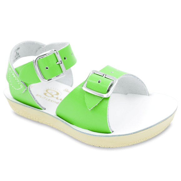 Surfer sandals (lime)