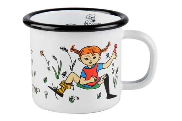 Enamel Mug 1.5dl(pipi and Mr.Nilson)