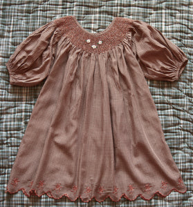 Butterfly dress (caramel)