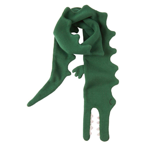Knitted Alligator Scarf