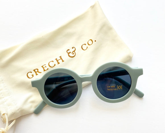 Sustainable kids Sunglasses(Light Blue)