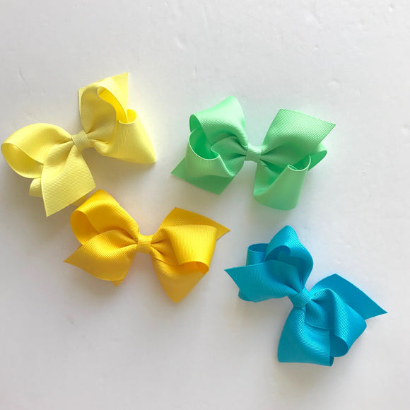 Small Classic Bow Hair clip(13colors)