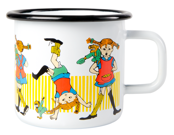 Enamel Mug3.7dl (Pipi Longstocking)