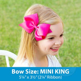 King Bow Hair clip
