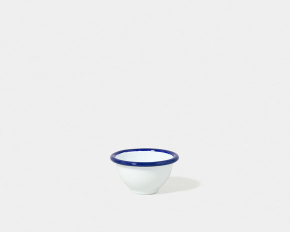 Pinch Pot(Blue brim, set of 2)