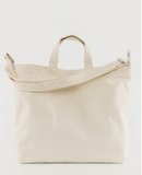 Horizontal duck bag(natural canvas)