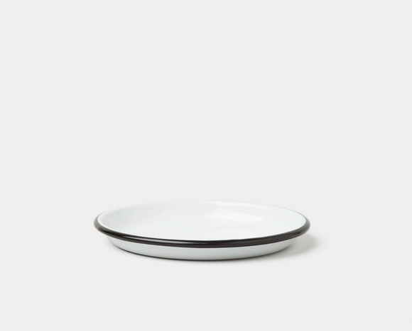 Sauce dish(large . Black rim)