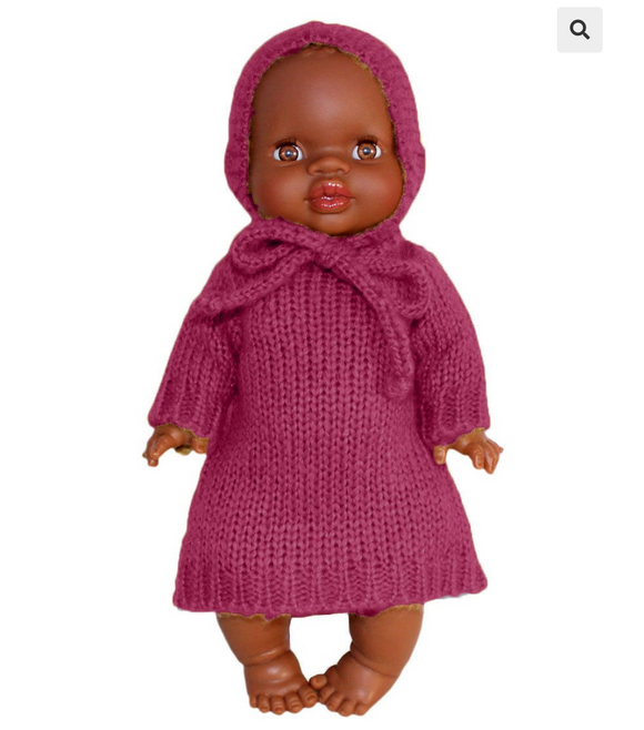 Gasparine plum wool set