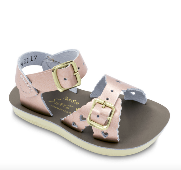 Sweetheart sandal (Rose gold)