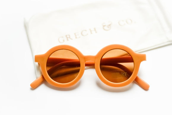 Sustainable kids Sunglasses(Golden)