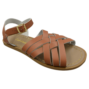 Saltwater Retro sandal (tan, Adult)