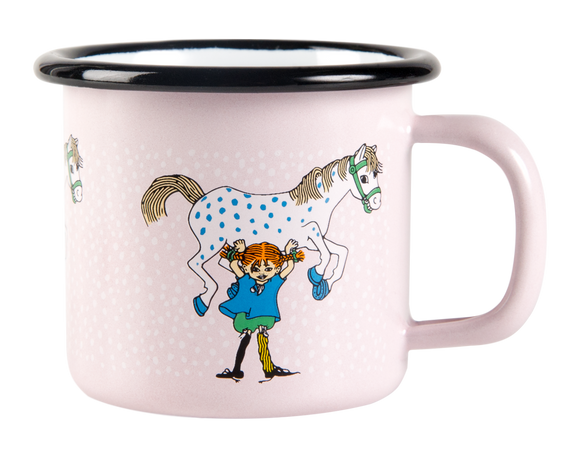 Enamel Mug 1.5dl(pipi and the horse)
